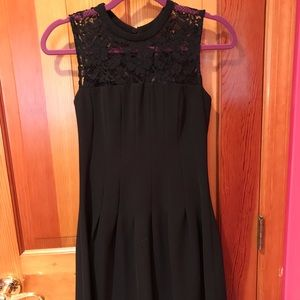 H&M Short Fit and Flare Dress with Lace